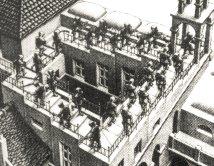 """""""Treppauf und treppab"""" by MC Escher"""